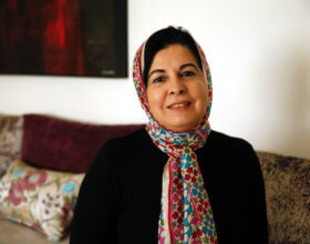 Asma Lamrabet is a Moroccan doctor, Islamic feminist and author (Photo: Asma Lamrabet).