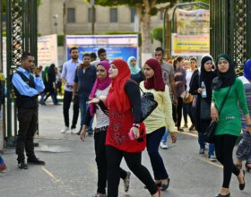 Students at Cairo University (Photo: mena-forum).