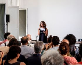 Rima Mismar, executive director of the Beirut-based Arab Fund for Arts and Culture (Photo: Mathias Völzke).
