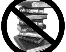 Banning books is an assault on the rights to freedom of thought and expression that the Kuwaiti constitution grants to all its citizens, the writer said.  (Graphic: Wikimedia Commons).
