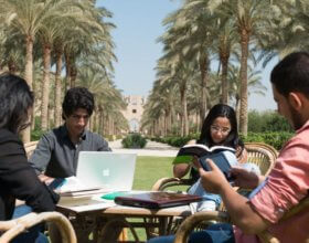 Students at the AUC. (Photo:  AUC facebook page).