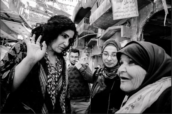 Iraqi women in Mosul. (Photo:Ali Yousif al-Baroodi)