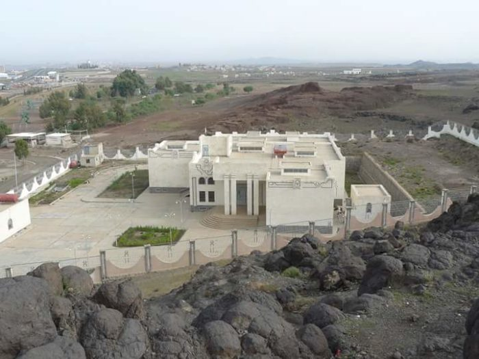 Dhamar Regional Museum before it was hit by an airstrike. Its destruction is emblematic of the threat Yemen's continuing civil war poses to cultural heritage sites (Photo: AIYS).