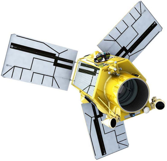 The remote sensing satellite was developed  instead of the EgyptSat-2 that went out of order in 2015. (Image: Russian Space Web)