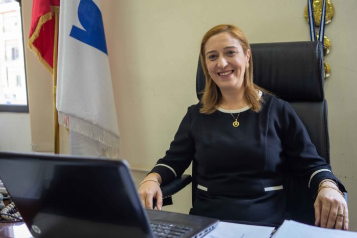 Jacqueline Ayoub, director of the Faculty of Letters and Social Sciences at the Tripoli campus of Lebanese University, says she sees the strike from the perspective of both the professors and the students (Photo: Olivia Cuthbert).