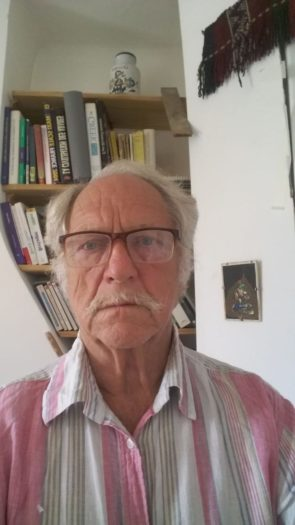 Roger Heacock, a professor of history at Birzeit for 35 years, and his wife, a health researcher, could not renew their residency visas and had to leave (Photo: Roger Heacock).