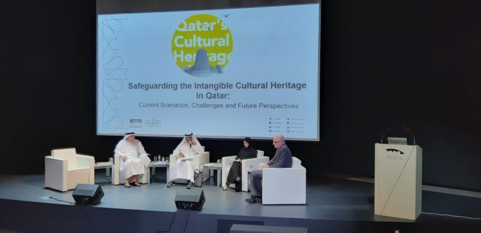 Native Qataris are a minority in their own country. A panel of experts gathered in Doha last week to discuss how to preserve key aspects of their intangible cultural heritage for future generations (Photo: Eman Kamel).