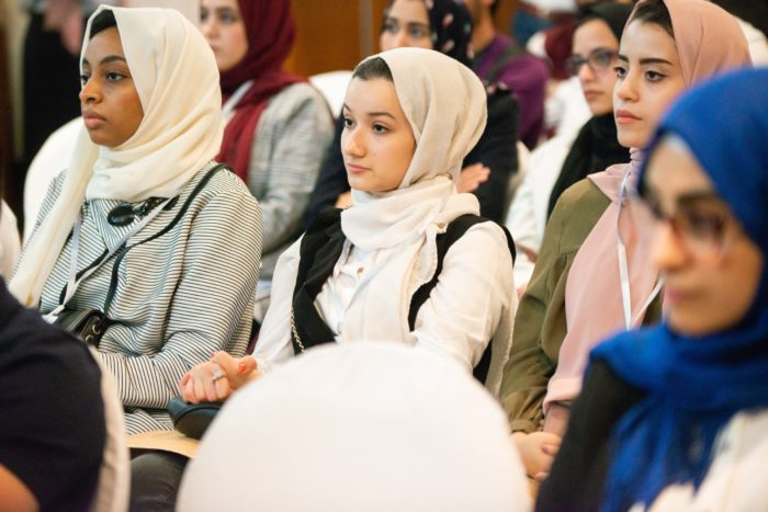 Young job-seekers attend an employment bootcamp sponsored by SPARK and Deraz Corner in Tripoli, Libya (Photo: Deraz Corner).