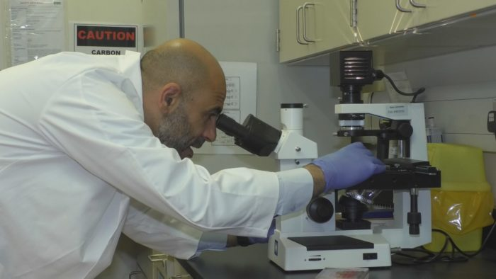 Hadi Yassine, an associate professor of epidemiology and infectious diseases at Qatar University.