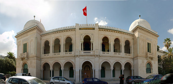 At the secular Sadiqi College, established in 1875, students came from all religious backgrounds and it quickly became Tunisia's most prestigious learning institution (Photo: Wikipedia).