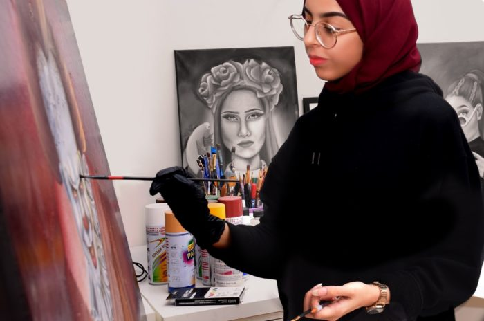 Nora Saeed, from Saudi Arabia, was happy to enroll in a bachelor's degree program at the Sharjah Performing Arts Academy. When Gulf women study abroad, she says, it's usually to become engineers or doctors.