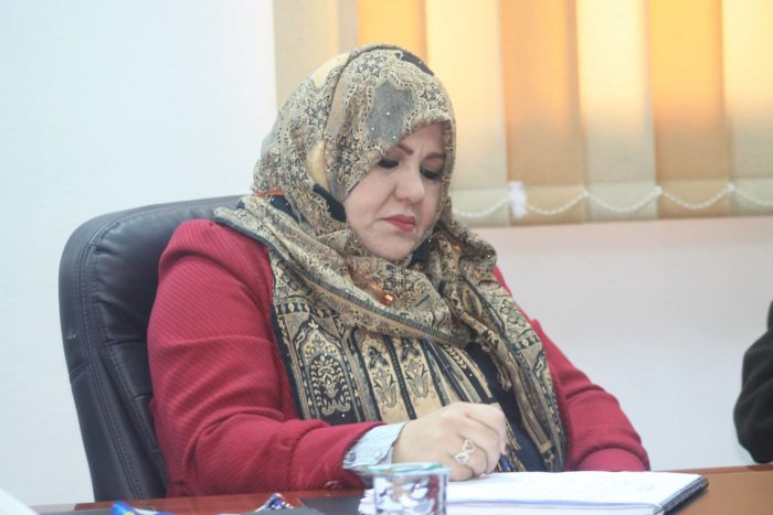 Salma Abdul-Karim Bukhatwa, dean of the Faculty of Pharmacy at Libyan International Medical University, helped develop the new rankings system. She believes it will help Libya's universities improve their academic services and eventually return to being included in international rankings (Photo courtesy of Salma Abdul-Karim Bukhatwa).