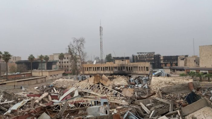 The University of Mosul was in rubble after Islamic State's three years of occupation ended in 2017. Elsewhere across Iraq, half of all schools need repairs and 7,000 more need to be built, U.N. officials say (Photo: Aws Ibrahim/ARA Network).