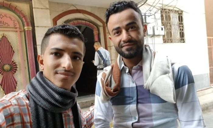 Salah Al-Wasi'i and other student protesters are calling for a return to the previously fixed exchange rate (Photo: Courtesy of Salah Al-Wasi'i).