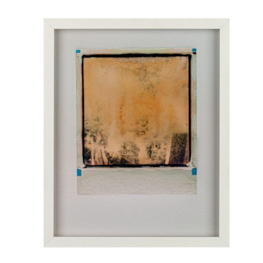 A blurred Polaroid photo from Caroline Tabet's series Inner Lives / Previous Lives.