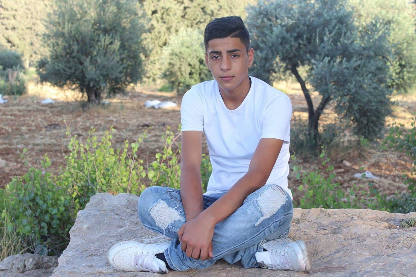 In Palestine, a Young Man's Education and Life Are Cut Short by Israeli Bullets