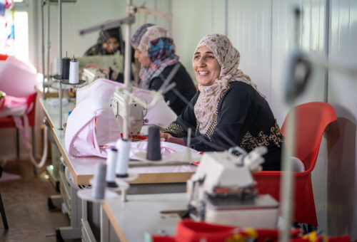 Helping Refugees Rebuild Their Lives in Host Countries