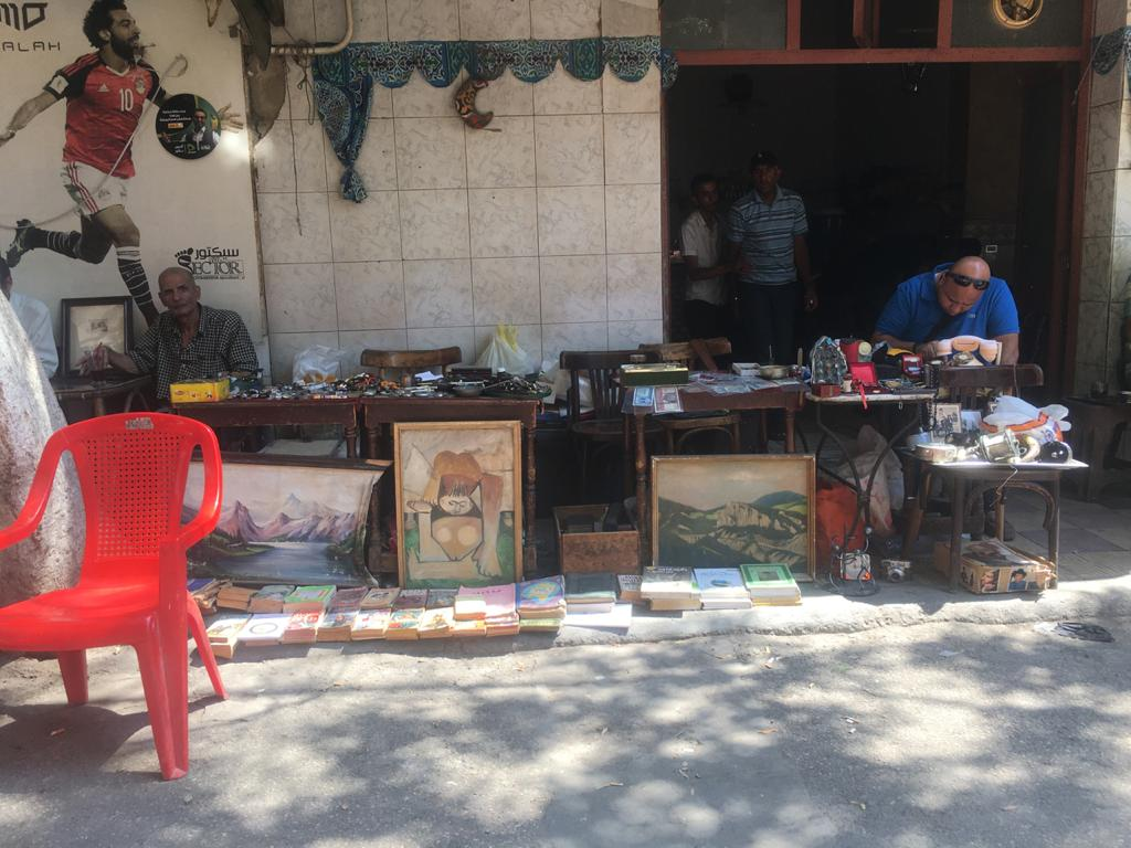 Covid restrictions prove a boost for a small Cairo book market