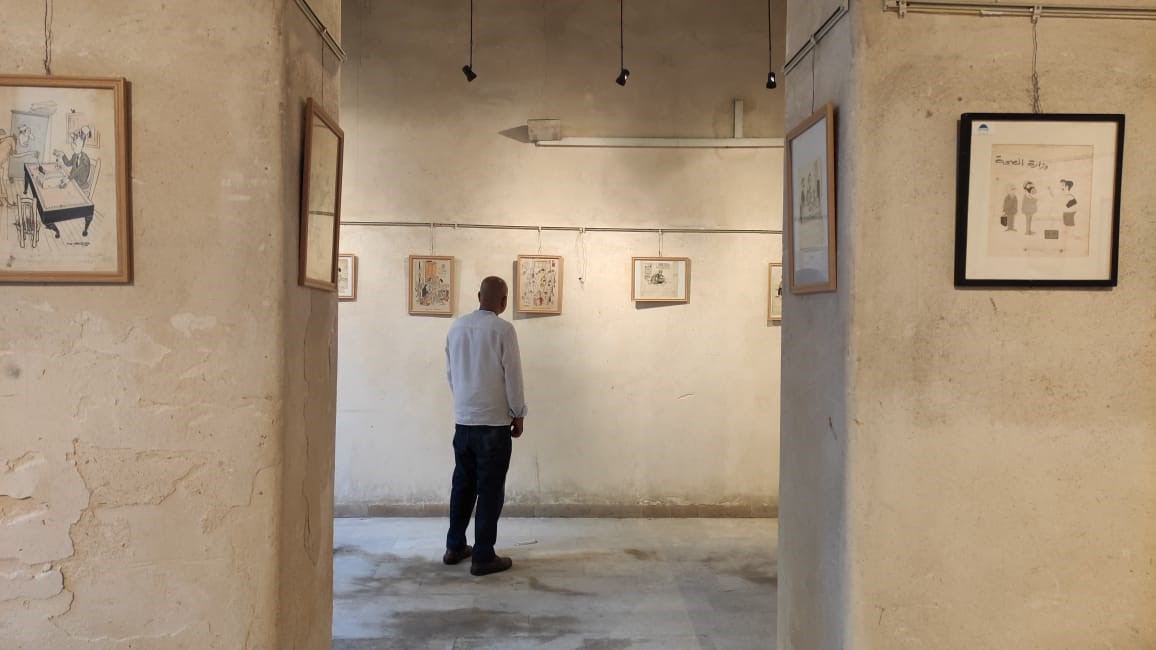 Exhibit Offers a New View of Salah Jahin, Egyptian Poet and Artist
