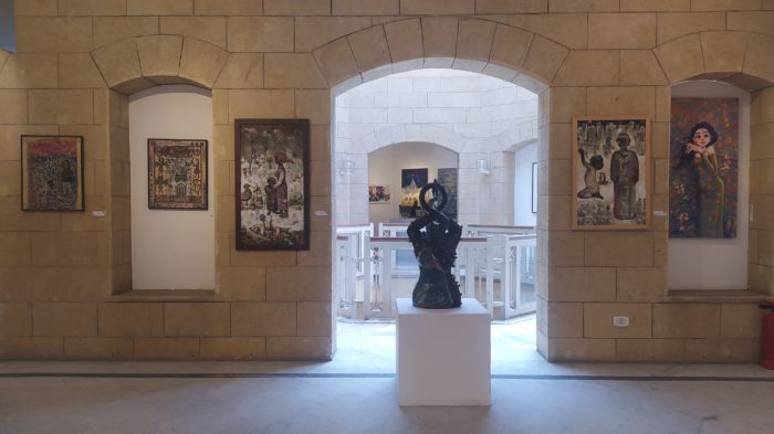 A view inside the Palace of Arts, in Cairo