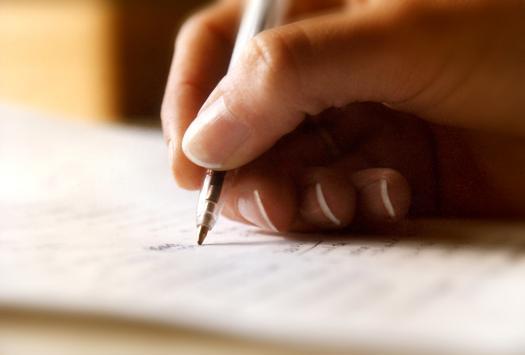 ecrire en anglais