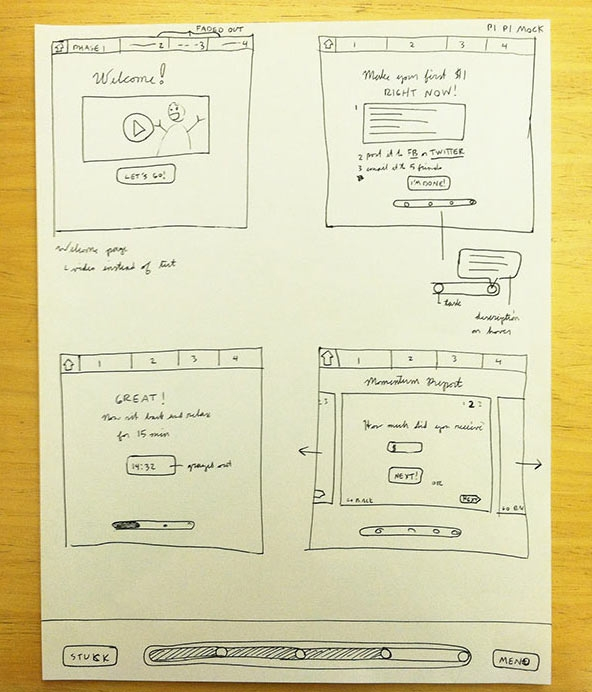 AppSumo Wireframe
