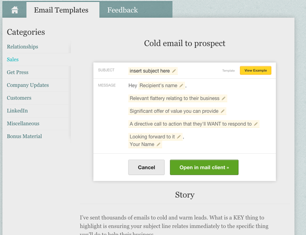 Get our 33 best email templates for $35!