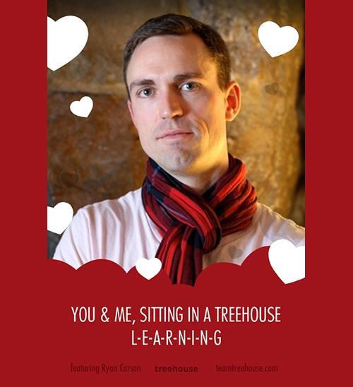 Ryan Carson's Valentine eCard