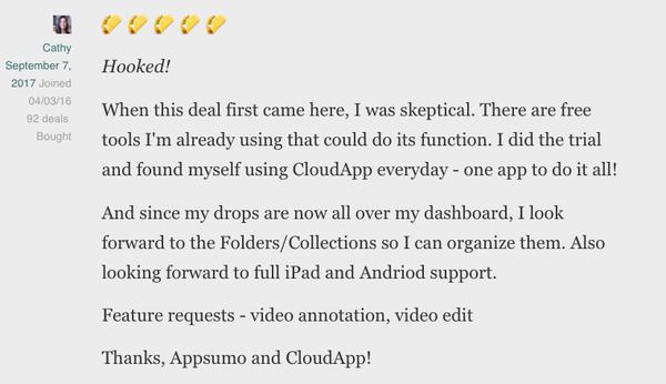 Get Lifetime Access to CloudApp