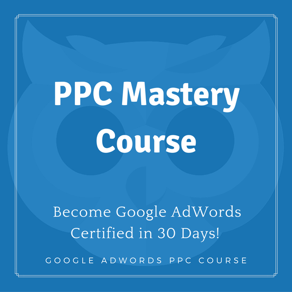 Lifetime Access to PPC (Google AdWords) Mastery Course