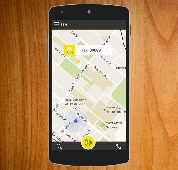 Taxi Android Templates