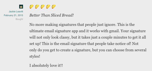 Last chance to get a lifetime of gorgeous signatures for your emails