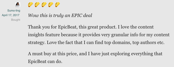 Get Lifetime Access to EpicBeat