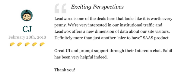 Lifetime Access to Leadworx