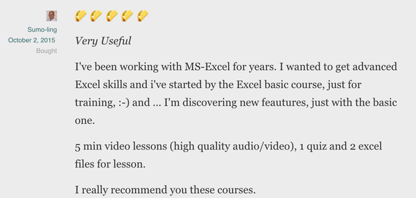 Lifetime Access to GoSkills Excel Course!