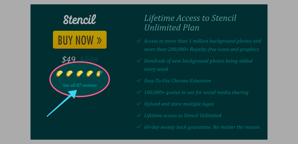 Get Lifetime Access to Stencil