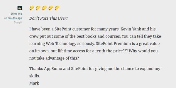 Lifetime Access to Sitepoint Premium