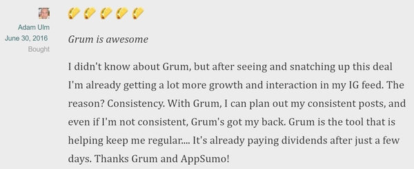 Lifetime Access to Grum!
