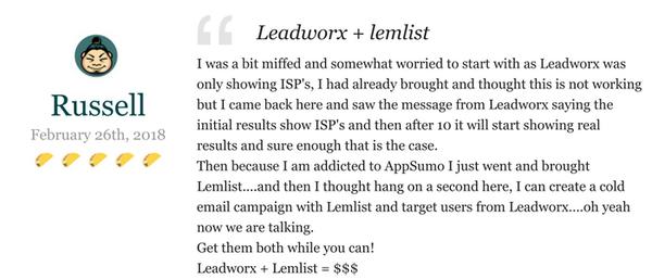 Lifetime Access to Leadworx Team