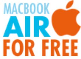 Mau MacBook Air gratis? Klik aja http://bit.ly/wsETKU