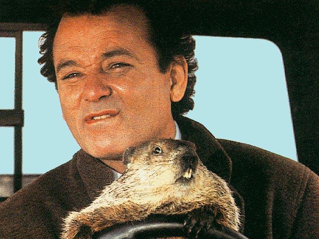 Ground Hog Day Movie Poster