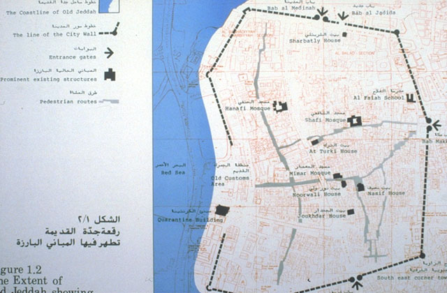 Jeddah Old Town Conservation | Map, city plan of Jeddah | Archnet