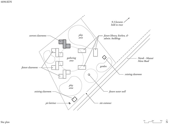 oleleshwa primary school site plan archnet Water Well Plumbing Diagram share