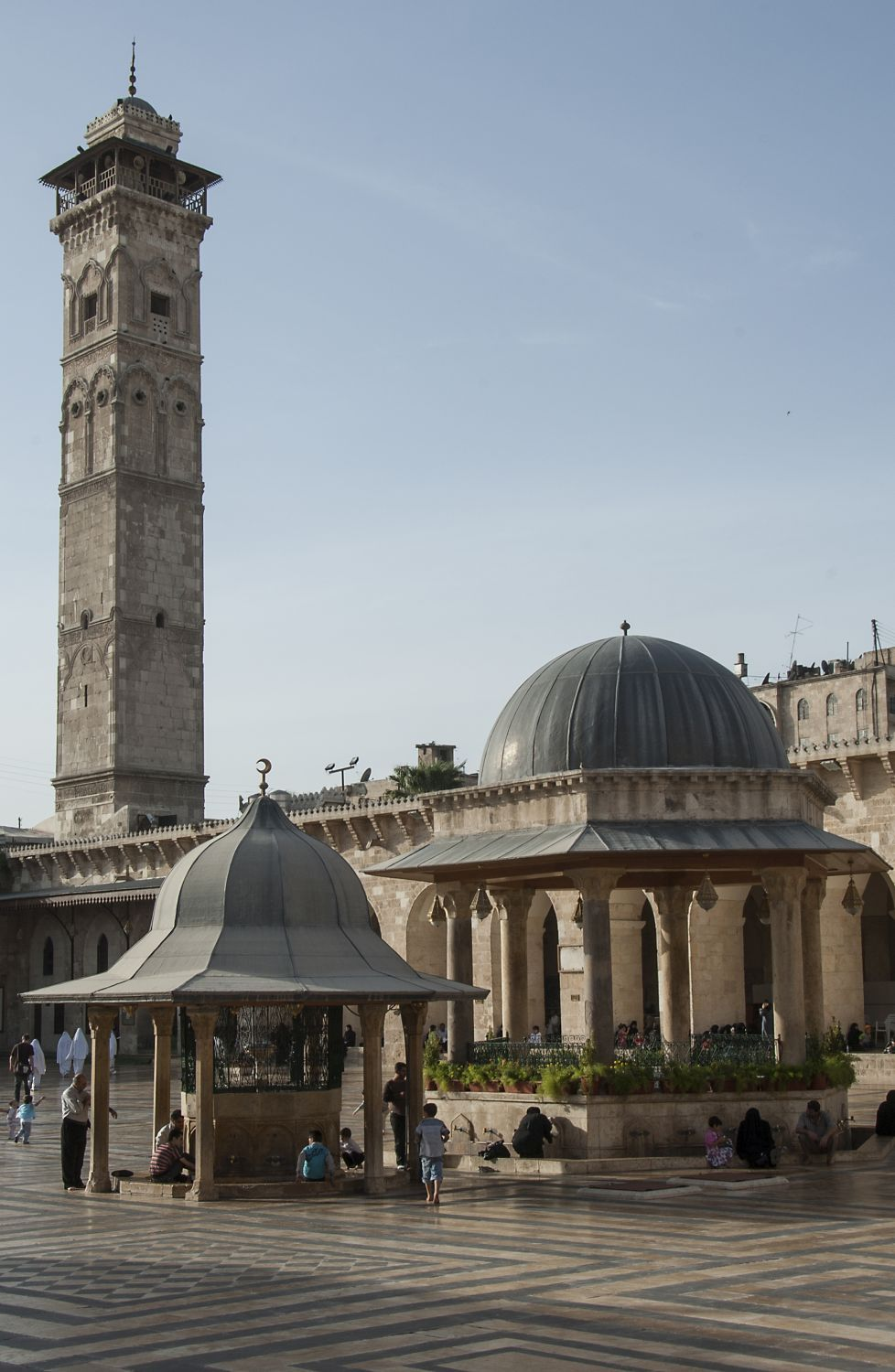 Collections     Aleppo: Umayyad Mosque (Waugh Collection