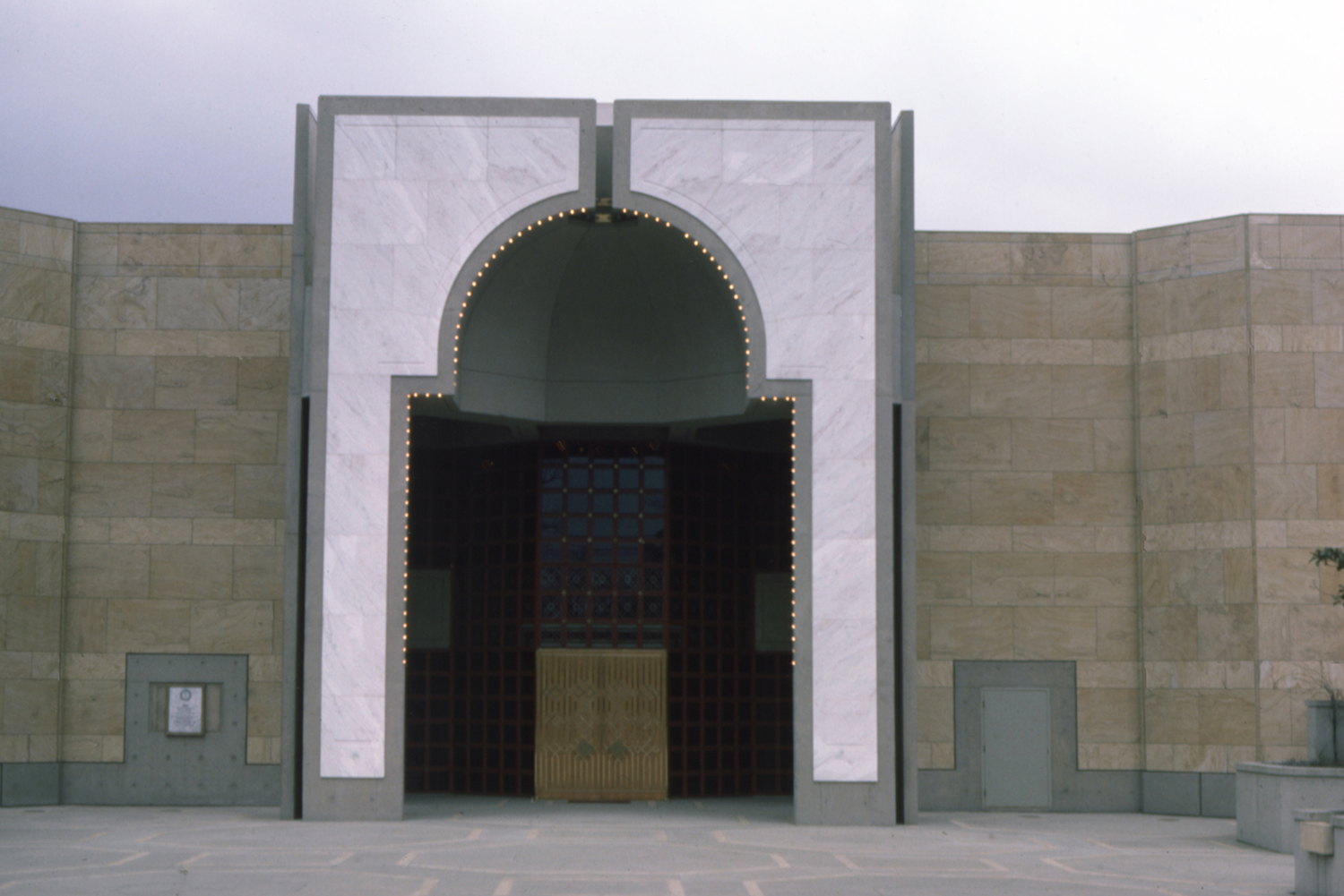 The Ismaili Centre, Burnaby | Entrance iwan  | Archnet