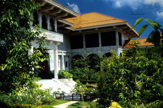 Istana Nurul Izzah View From Garden To Bedroom Suites