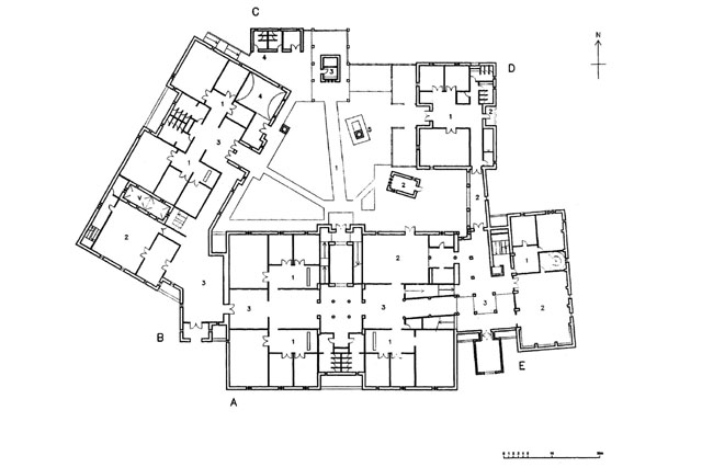 Hadosan Carpet And Handicraft Center Plan Archnet