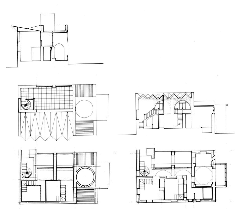 Design Drawing: Sleeping Area Plans