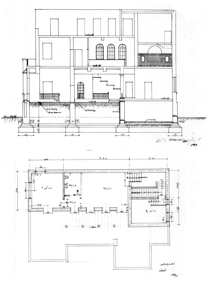 Drawing House Floor Plans: Working Drawing: Second Floor Plan And