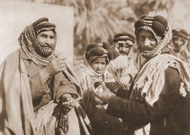 A Shiekh Enjoying The Famous Arab Coffee